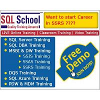 SSRS Real time Online Training @ SQL School