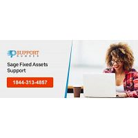 sage fixed assets support number