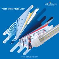 Substitute 120W Fluorescent Tube With T8 8FT 48W LED Tube Lights