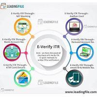 How to E-Verify Income Tax Return