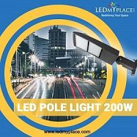 Buy Commercial LED Pole Lights For Your Parking Lots