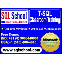 Best Project Oriented Classroom Training On MS SQL