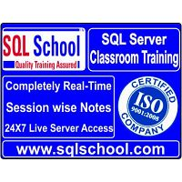 SQL Server Real Time Classroom Training @ SQL School