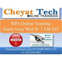 rpa online training - cheyat tech