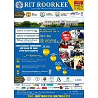 RIT ROORKEE Best Institute in Uttrakhand for Engineering & Management