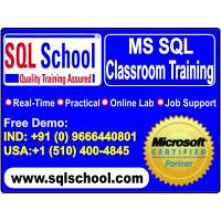 SQL DBA Classroom Training @ SQL School
