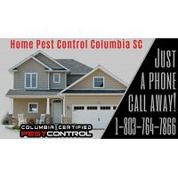 Columbia Certified Home Pest Control is Just a Phone Call Away!