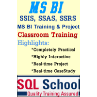 MSBI Practical Live Classroom Training