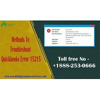 Methods To Troubleshoot Quickbooks Error 15215