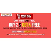 BUY 2 GET 4 FREE VIDEO Courses FREE | Under @ 198 $ - SAP