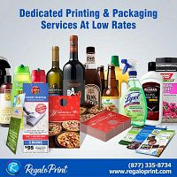 Dedicated Printing & Packaging Services At Low Rates | RegaloPrint