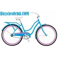 Women's Schwinn Baywood Cruiser Blue Bike 26 Inches