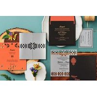 Ritualistic South Indian Wedding Cards
