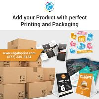 We Offer Efficient Printing and Packaging Solution - RegaloPrint