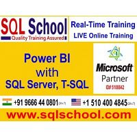 Real Time Online Training On Power BI @ SQL School