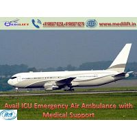 Get Instant Patient Relocation Air Ambulance Service in Delhi