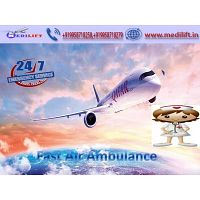 Medilift Air Ambulance Service in Raigarh- the Classy in all