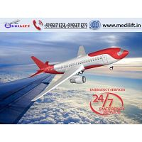 Medilift Air Ambulance Service in Coimbatore -Low-Fare and Best