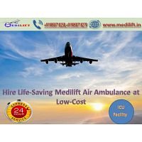 Utilize Medilift Air Ambulance Service in Kolkata with Doctor