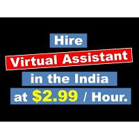 Hire a Virtual Assistant for $2.99 / hour