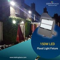 Install 150W LED Flood Light Fixture to Live Safely and Peacefully