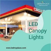 Change MH or Halogen Lights with The LED Canopy Lights For Gas Stations
