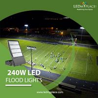 Upgrade to 240W LED Flood Light that Come with Wider Beam Angle