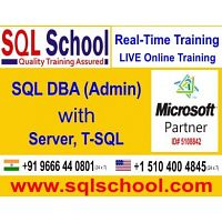 SQL DBA Practical Online Training