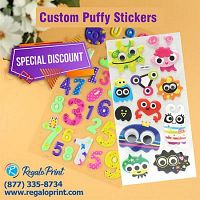Enhance Your Stationary Items with Puffy Stickers Printing| RegaloPrint