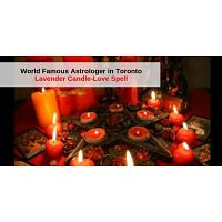 World Famous Astrologer in Toronto - lavender Candle-Love Spell