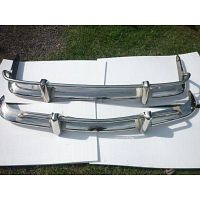 Volkswagen Karmann Ghia US Bumper 56-71 in stainless steel