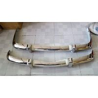 Volkswagen Karmann Ghia EU Bumper 56-71 in stainless steel