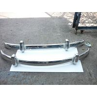 Volkswagen Beetle EU Bumper 55-67 in stainless steel