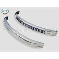 Volkswagen Beetle Late Bay Bumper 68-72 in stainless steel