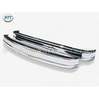 Volkswagen Bus Type 1 US Bumper in stainless steel
