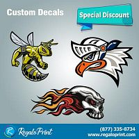 Enhance your Business Items with Decals Printing | RegaloPrint