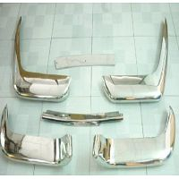 Volvo P1800 Cow Horn Bumper in stainless Steel