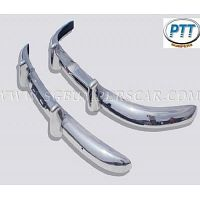 Volvo PV444 Bumper 47-58 in stainless Steel