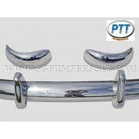 Volvo PV 445 Duett Bumper 53-69 in stainless steel