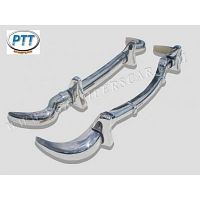 Mercedes 190SL Bumper 55-63 in stainless steel