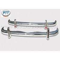 Mercedes 219/220SE Bumper 54-60 in stainless steel