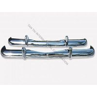 Mercedes W110US Bumper 61-68 in stainless Steel