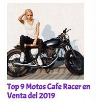 LAS MEJORES MOTOS CAFE RACER DEL 2019