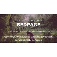 Top adult classified site Bedpage is providing adult seo services