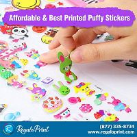 Affordable and Best Printed Puffy Stickers | RegaloPrint