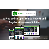 A free and open source nodejs, angular eCommerce