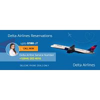 Delta Airlines Reservations Services Number +1-844-283-4016