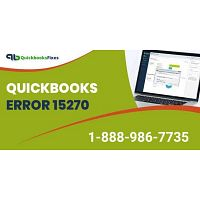 QuickBooks Error 15270 | QuickBooks Error Code 15270