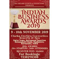 INDIAN BUSINESS AWARDS 2019