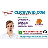Govt Regd Company Click Vivid Technologies provides Various JOBS